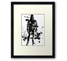 Big Boss MGS3 Framed Print