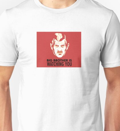 Big Brother Is Watching You vers.2 - 1984 Orwell Unisex T-Shirt
