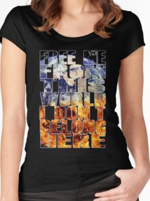 Muse - Explorers Women's Fitted Scoop T-Shirt