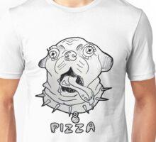 Pizza Pug Unisex T-Shirt