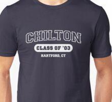 Gilmore Girls - Chilton (white text) Unisex T-Shirt