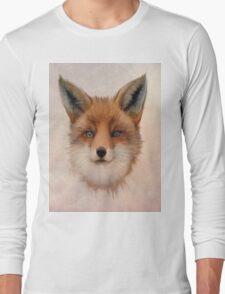 Vulpes vulpes - Red Fox Long Sleeve T-Shirt