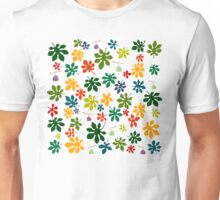 Colorful fig tree pattern Unisex T-Shirt