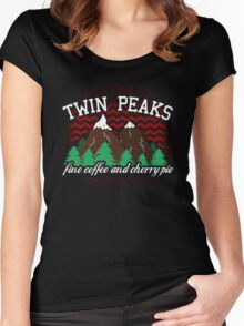 Welcome to Twin Peaks Women's Fitted Scoop T-Shirt