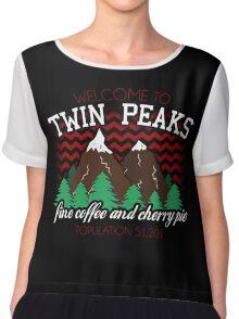 Welcome to Twin Peaks Chiffon Top