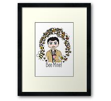 Bee Mine! - Castiel from Supernatural Framed Print