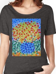 Abstract Bouquet in a Round Vase 2 Women's Relaxed Fit T-Shirt