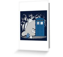 Totoro My Neigbour,Dr Who Greeting Card