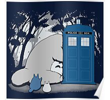 Totoro My Neigbour,Dr Who Poster