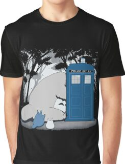 Totoro My Neigbour,Dr Who Graphic T-Shirt