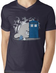 Totoro My Neigbour,Dr Who Mens V-Neck T-Shirt