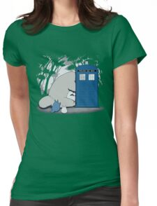 Totoro My Neigbour,Dr Who Womens Fitted T-Shirt