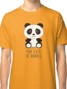 cute panda Classic T-Shirt
