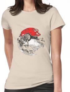Pokeball Womens Fitted T-Shirt