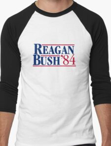Reagan Bush Men's Baseball ¾ T-Shirt