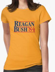 Reagan Bush Womens Fitted T-Shirt