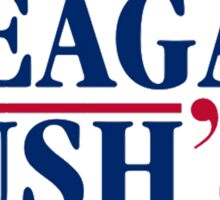 Reagan Bush Sticker
