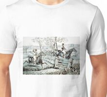 Fox chase - In full cry - 1846 - Currier & Ives Unisex T-Shirt