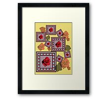 Red Rose Framed Print