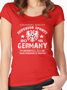 germany soccer club Women's Fitted Scoop T-Shirt
