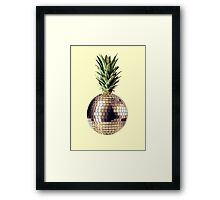 Ananas party (pineapple) Framed Print