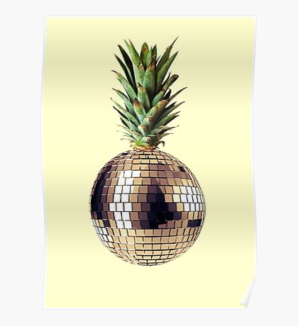 Ananas party (pineapple) Poster