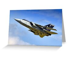 "Panavia Tornado F3  43 Sqn ""The Fighting Cocks""  Greeting Card"