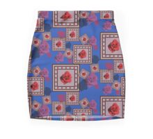 Red Rose Mini Skirt