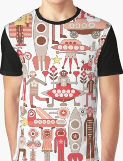 Cubista Space Graphic T-Shirt