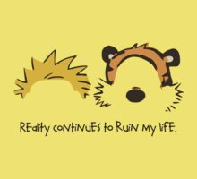 Calvin and Hobbes Quotes Baby Tee