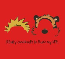 Calvin and Hobbes Quotes One Piece - Short Sleeve