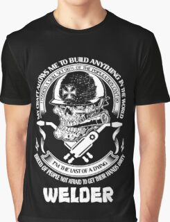 I am Proud to Be a Welder Graphic T-Shirt
