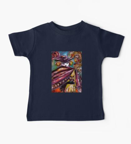 FAUST / Mysterious Mask with Tricorn and Owl Baby Tee