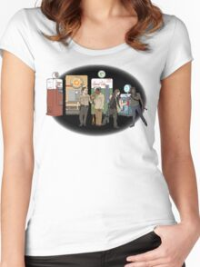 The Walking Nazi Zombie Slayers Women's Fitted Scoop T-Shirt