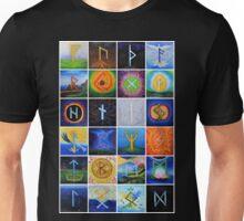 Set of scandinavian runes  Unisex T-Shirt
