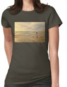 The Girl and The Seagull Womens Fitted T-Shirt