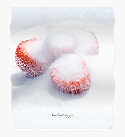 Sugared Strawberries Poster