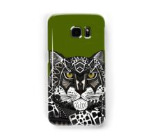 snow leopard green Samsung Galaxy Case/Skin