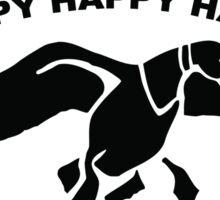 Happy happy happy Sticker