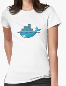 Docker Womens Fitted T-Shirt
