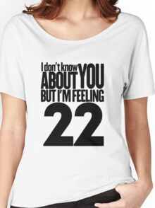Taylor Swift 22 T Shirt Women's Relaxed Fit T-Shirt