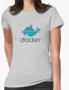 Docker Womens Fitted T-Shirt