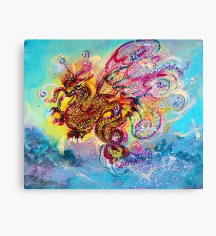 SEA DRAGON Canvas Print