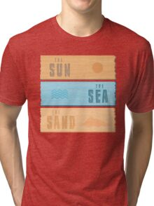 Summer Holidays Tri-blend T-Shirt