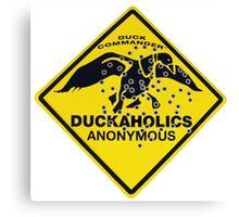Duckaholics Anonymous Canvas Print
