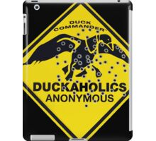 Duckaholics Anonymous iPad Case/Skin