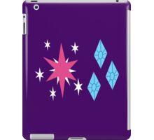 My little Pony - Twilight Sparkle + Rarity Cutie Mark iPad Case/Skin
