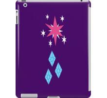 My little Pony - Twilight Sparkle + Rarity Cutie Mark V2 iPad Case/Skin