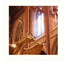 Detail, Saint David's Cathedral, Hobart Art Print