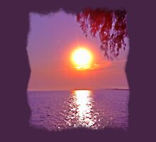 Beautiful Sunset in Greece Unisex T-Shirt
